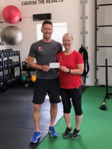 £300 raised by 'Beach Body Challenge' For Autism Support Kilkeel